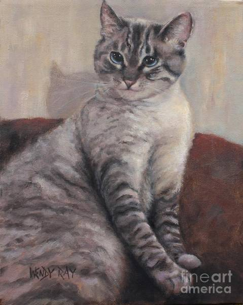 Painting - A Regal Pose by Wendy Ray