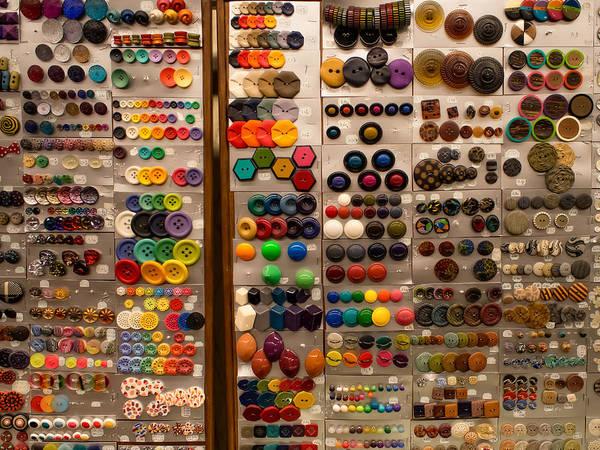 A Riot Of Buttons Art Print