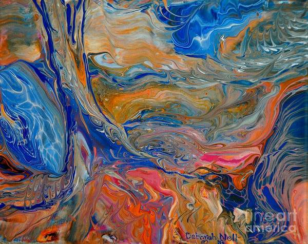 Painting - A River Runs Through It by Deborah Nell
