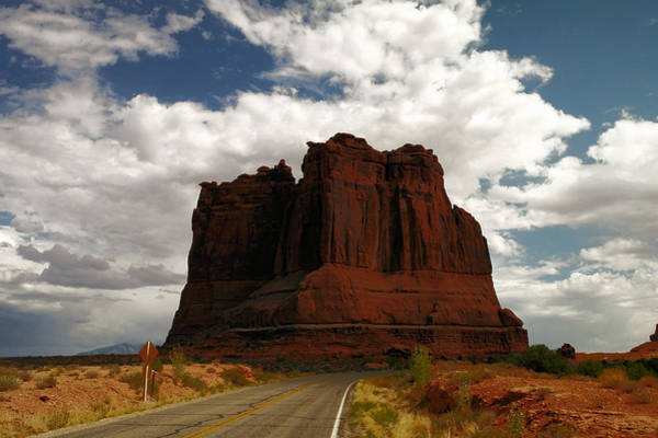 Wall Art - Photograph - A Road To The Rock by Jeff Swan