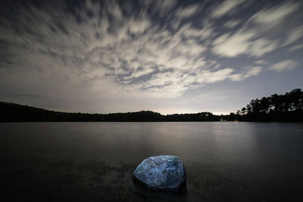 Photograph - A Rock In The Pond by Brian Hale
