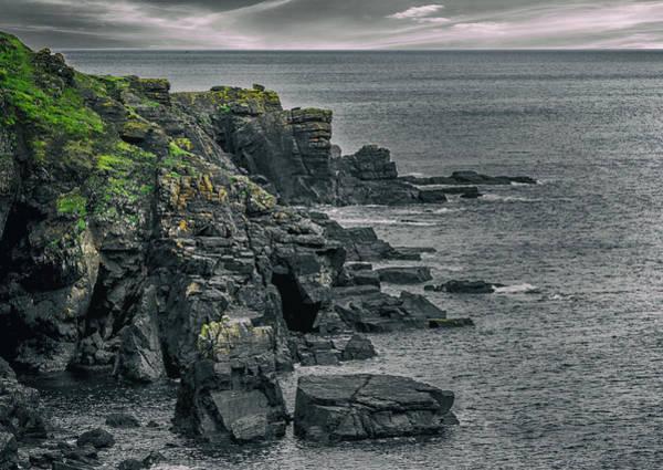 Northern Scotland Wall Art - Photograph - A Rocky Cove by Martin Newman