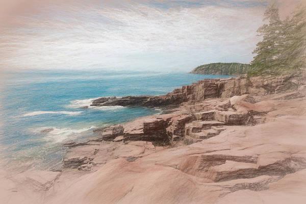 Photograph - A Coastal Scene by John M Bailey