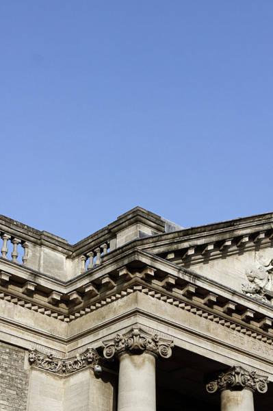 Court House Photograph - A Roman Building by Tom Gowanlock