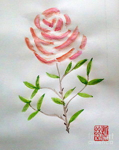 A Rose Is A Rose Is A Rose Art Print