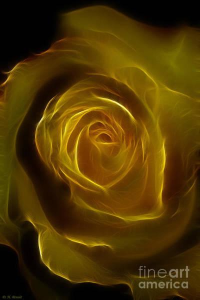 Photograph - A Rose Of Yellow by Deborah Benoit