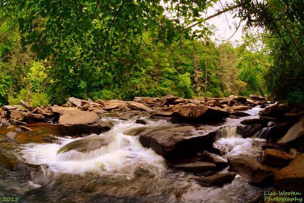 Triple Falls Photograph - A Rough Road by Lisa Wooten