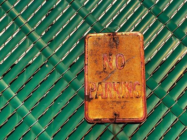 Photograph - A Rusted Command by Cate Franklyn