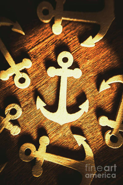 Sea Life Photograph - A Sailors Badge by Jorgo Photography - Wall Art Gallery