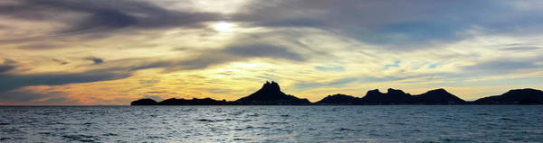 Wall Art - Photograph - A Scenic Ocean Sunset View Of Tetakawi Mountain And San Carlos,  by Derrick Neill
