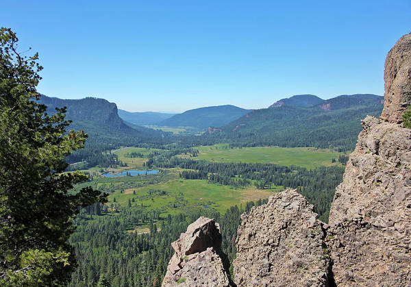 Wall Art - Photograph - A Scenic View From The West Fork Valley Overlook In Colorado by Derrick Neill