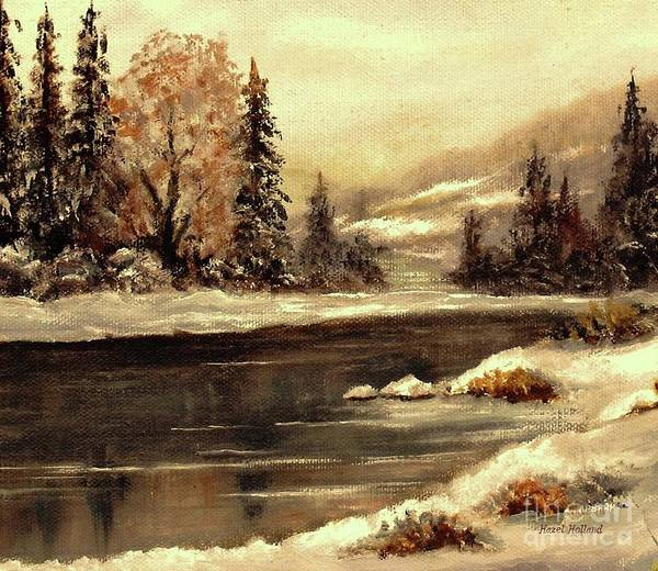 Wall Art - Painting - Early Morning by Hazel Holland
