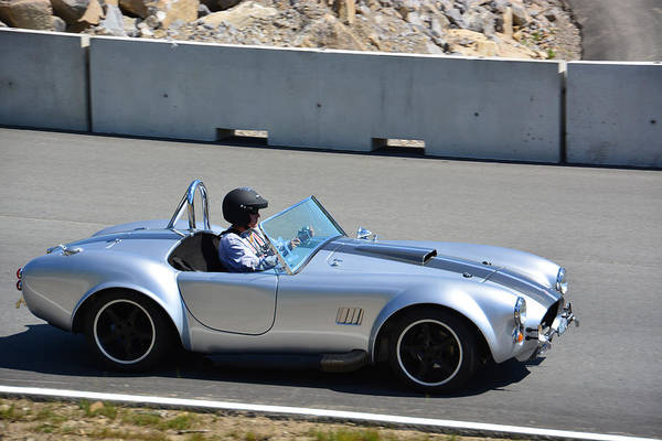 Whiskey Hill Wall Art - Photograph - A Shelby Cobra Replica by Mike Martin