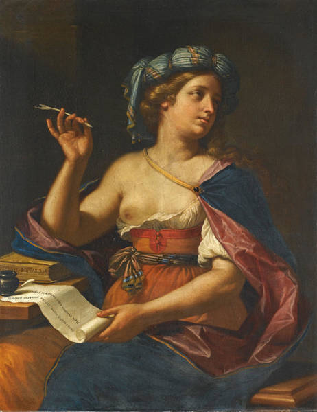 Cesare Painting - A Sibyl by Cesare Gennari