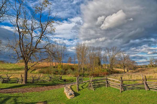 Photograph - A Simple Farm Lane by John M Bailey