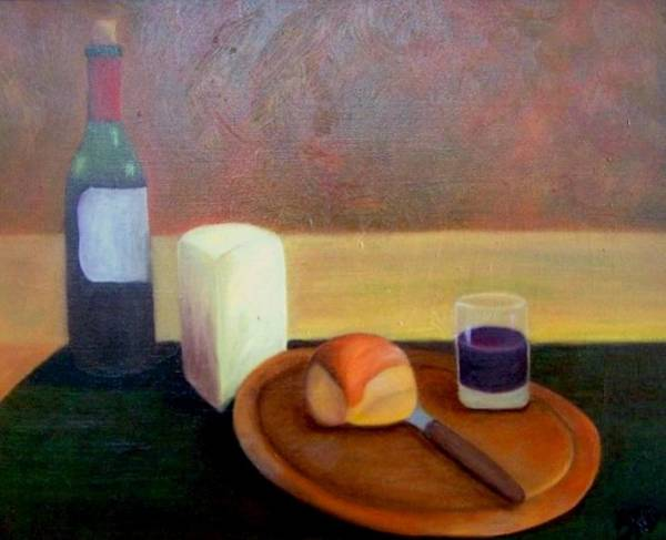 Painting - A Simple Meal......sold by Susan Dehlinger