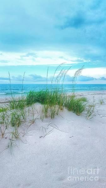 Photograph - A Sleepy Blue Ocean by Rachel Hannah