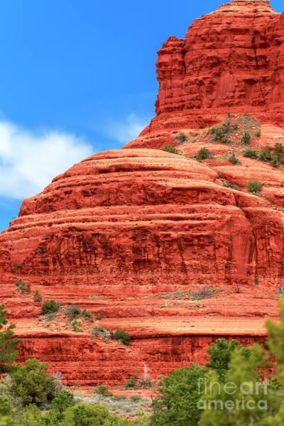 Red Rocks Of Sedona Photograph - A Slice Of  Bell Rock Sedona by John Rizzuto