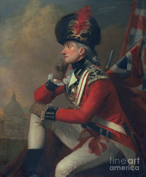 Pensive Painting - A Soldier Called Major John Andre by English School