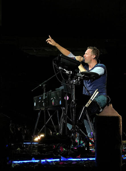 Coldplay Photograph - A Song For You by Ron Rizzi