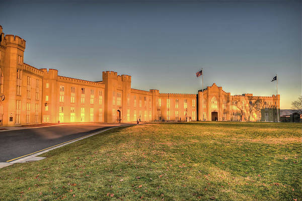 Photograph - A Spartan Environment - The Barracks At V M I by Don Mercer
