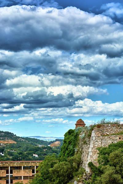 Photograph - A Spring Day At The Roman Walls Of Tarragona by Fine Art Photography Prints By Eduardo Accorinti