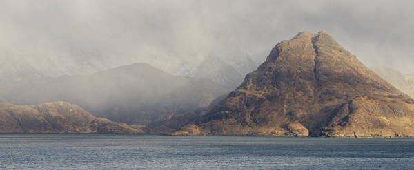 Photograph - A Squall At Elgol by Stephen Taylor