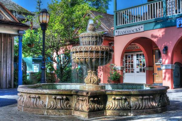 Photograph - A St. Augustine Water Fountain  by Carol Montoya