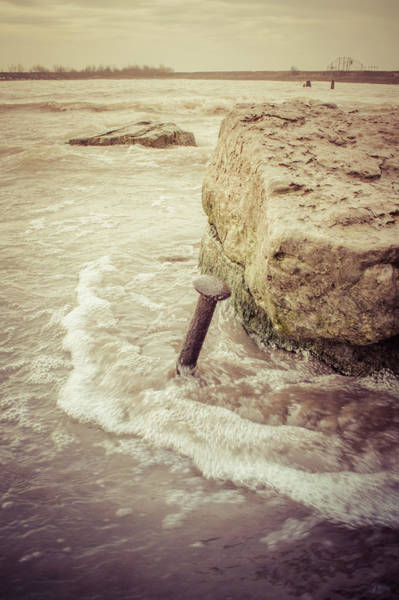 Photograph - A Stake In The Beach by Garvin Hunter