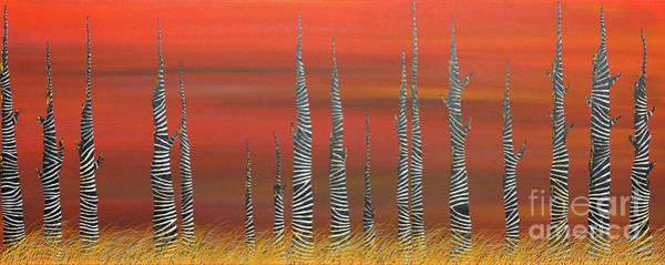 Wall Art - Painting - A Still Day On The Outskirts Of Hades by Andrea Youngman