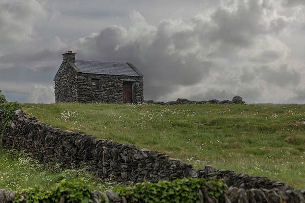 Photograph - A Stone House On The Hill by Teresa Wilson
