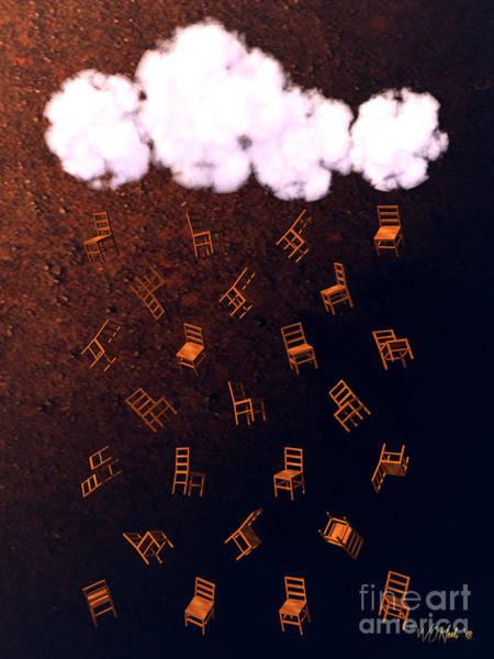 Digital Art - A Strange Kind Of Rain by Walter Neal