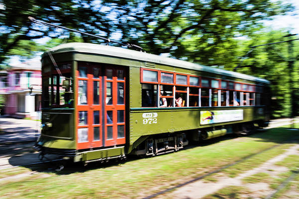 Photograph - A Street Car by Chris Coffee