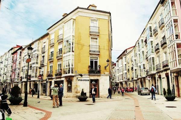 Photograph - A Street In Burgos by HweeYen Ong