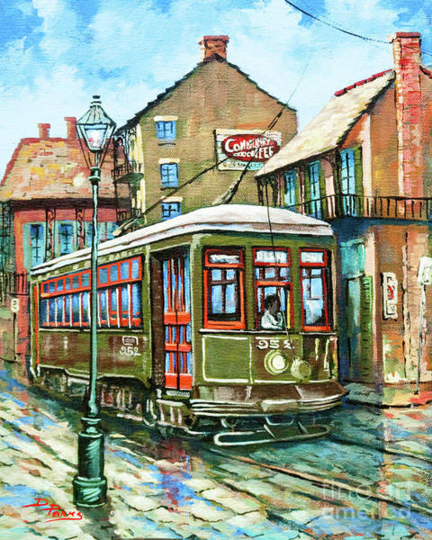 Painting - A Streetcar Named Desire by Dianne Parks