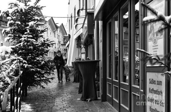 Photograph - A Stroll In Berchtesgaden by John Rizzuto