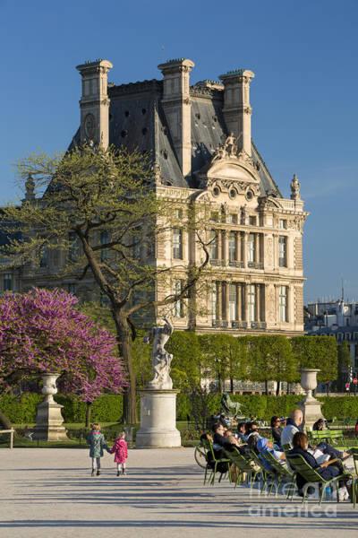 Jardin Des Tuileries Photograph - A Stroll In The Garden by Brian Jannsen