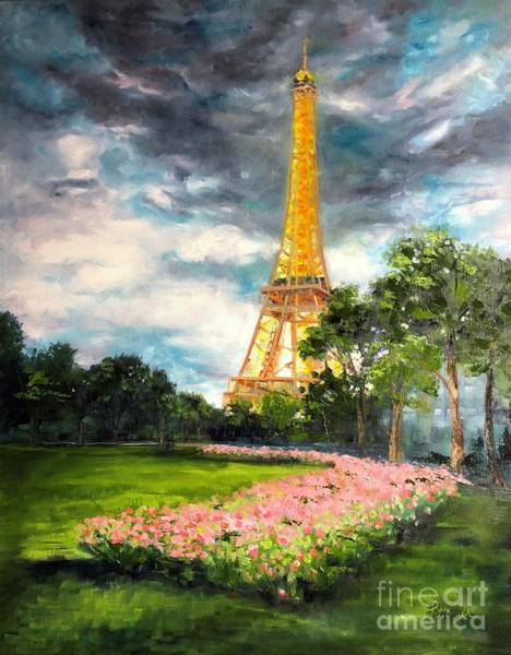 Painting - A Strong Tower by Lori Pittenger