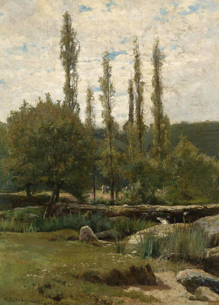 Bolton Wall Art - Painting - A Summer Afternoon In Brittany by Hugh Bolton Jones