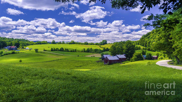 Photograph - A Summer Day At The Jenne Farm by Scenic Vermont Photography