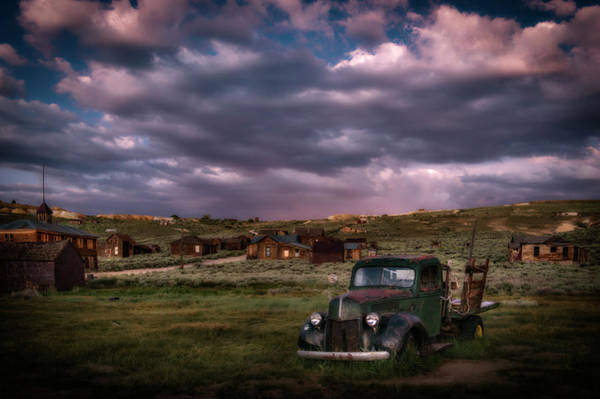 Bodie Ghost Town Wall Art - Photograph - A Summer Evening In Bodie by Cat Connor