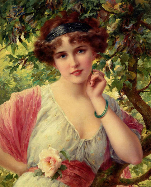 Wall Art - Digital Art - A Summer Rose by Emile Vernon