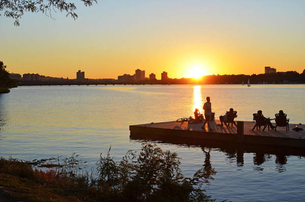 Photograph - A Summer Sunset On The Charles River by Toby McGuire