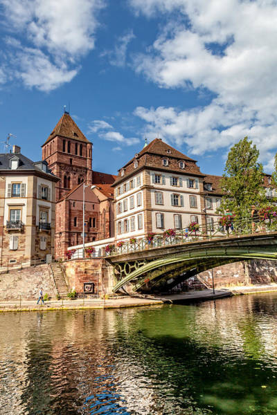 Luther Photograph - A Summer's Bridge In Strasbourg by W Chris Fooshee