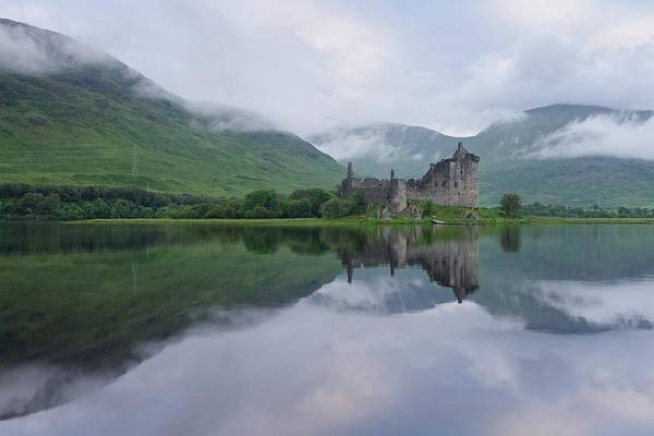 Photograph - A Summers Morning At Kilchurn by Stephen Taylor