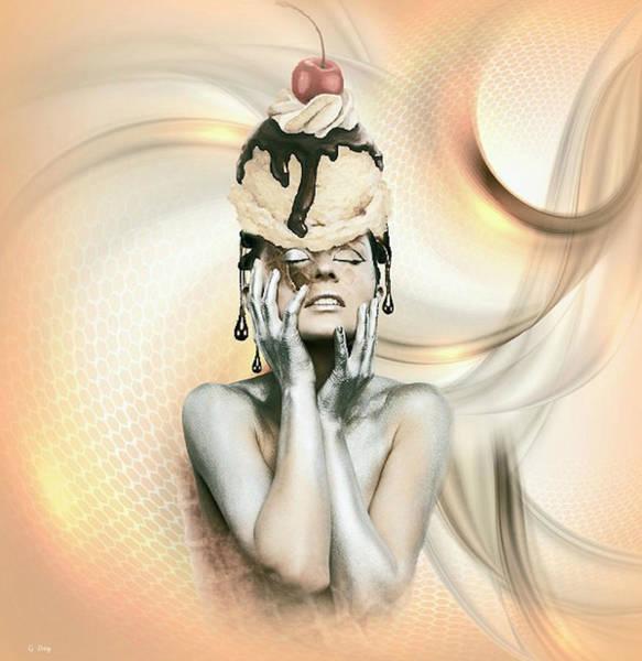 Sundae Wall Art - Mixed Media - A Sundae Afternoon by G Berry