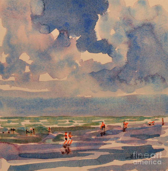 Painting - A Sunny Day At The Beach by Julianne Felton
