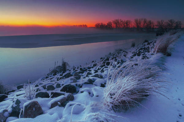 Photograph - A Sunrise Cold by John De Bord