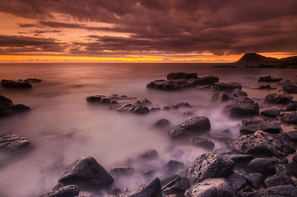 Wall Art - Photograph - A Sunset At Track Beach by Tin Lung Chao