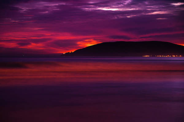 Photograph - A Surf Sunset - Minimalism Art by Gregory Ballos